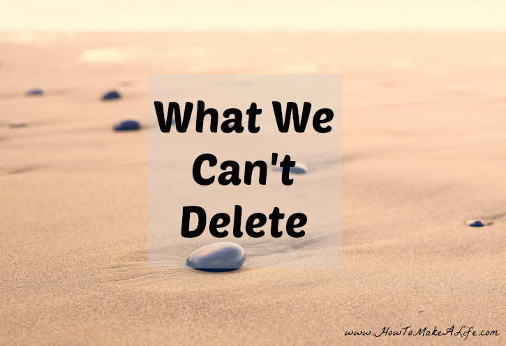 What We Can't Delete