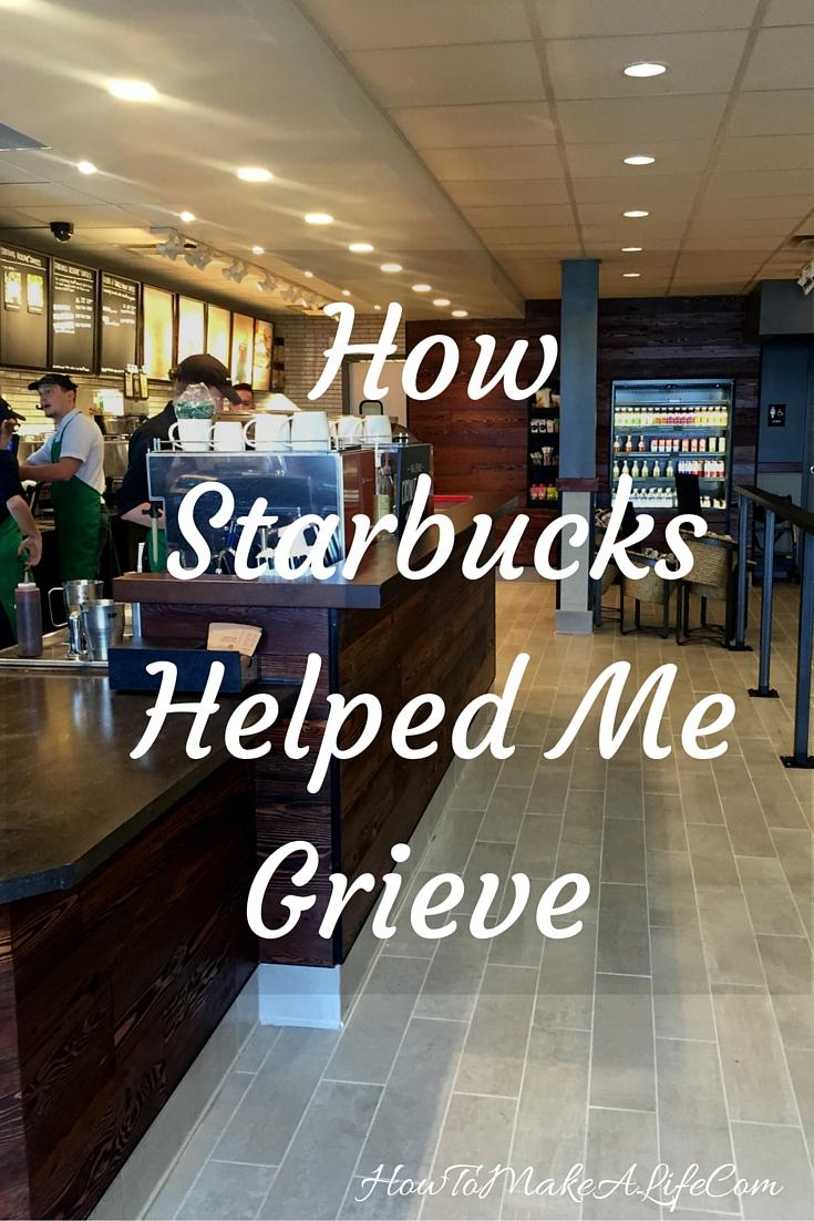How Starbucks helped me grieve