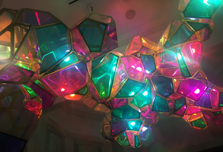 Light fixture entr 21 c Museum Lexington