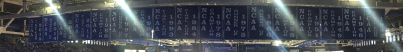 University of Kentucky basketball banners