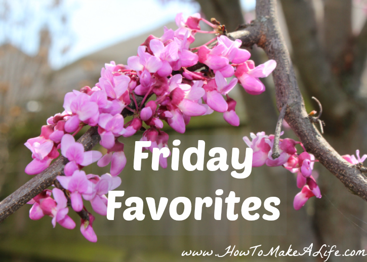 Friday Favorites – Middle of April