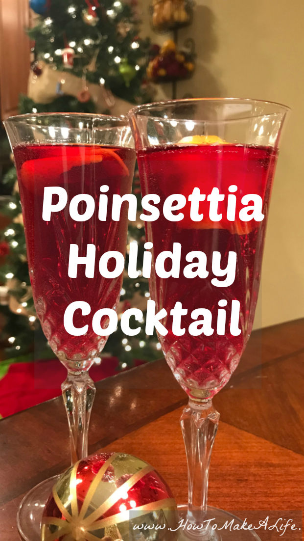 The Poinsettia Holiday Cocktail