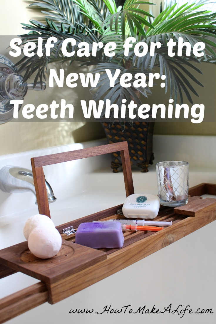 Practice Self Care with a whiter smile