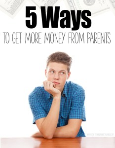 How To Earn Money From Your Parents