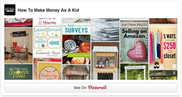 Websites for kids to make money