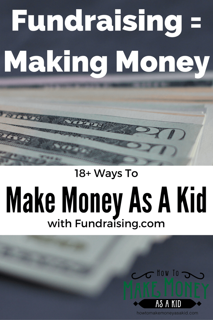 18+ fundraising ideas for kids & teens - howtomakemoneyasakid