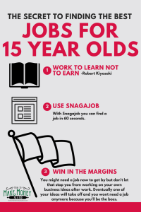 jobs for 15 year olds, jobs for teens