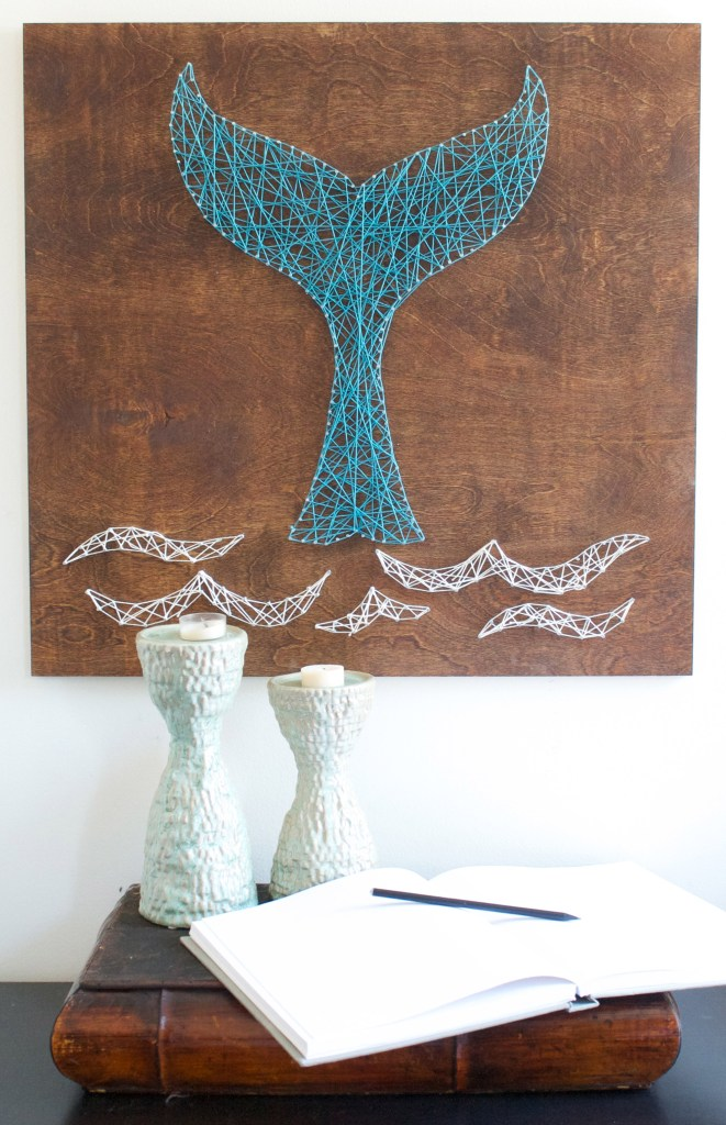 String Art Easy Craft Ideas DIY Wall