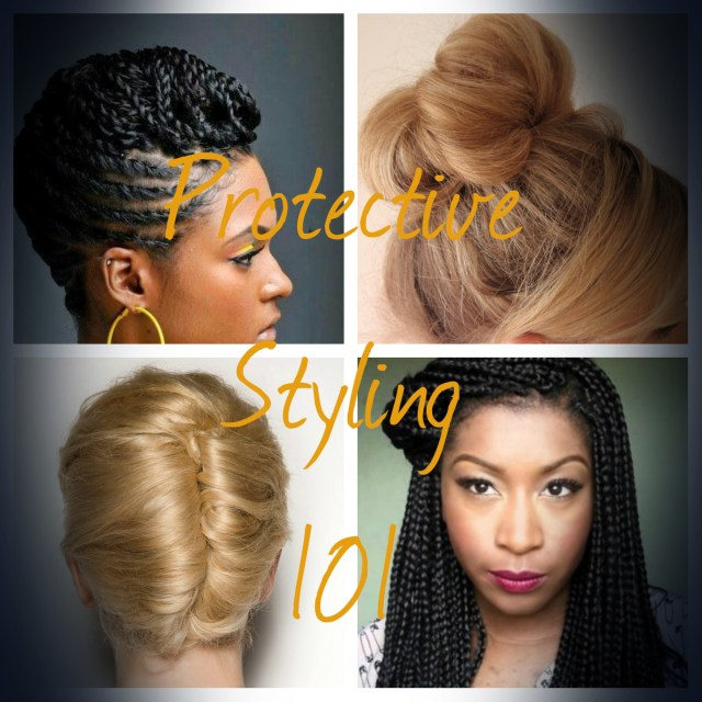 protective styling 101 - the best hairstyles for growing