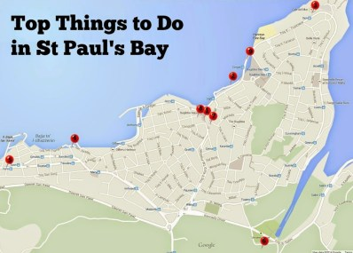 Top Things to do in St Pauls Bay Malta