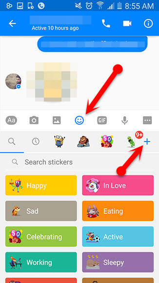 Facebook_messenger_Stickers_pack_on_mobile