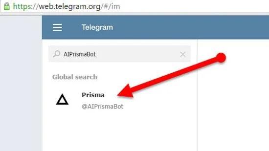Prisma_bot_fo_ Telegram