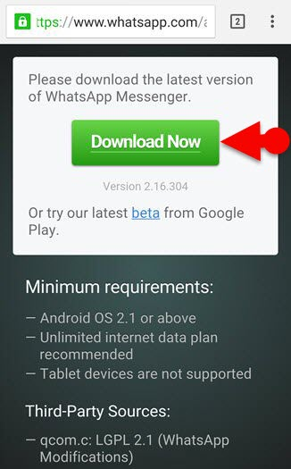 Download Whatsapp Apk Without Google Play Store WhatsApp