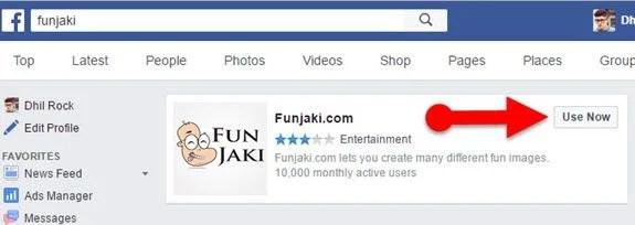 Funjaki_Facebook_ID_Maker_app