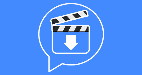 save videos from Facebook messenger