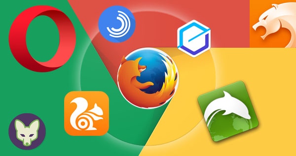 Best Android Browsers, browsers for android