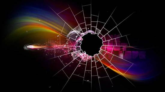 cracked screen wallpaper windows 7