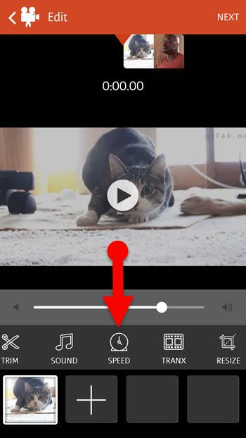 slow motion video editor app for Android