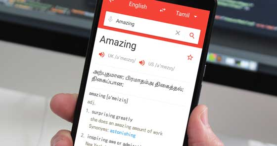 Best English To Tamil Dictionary App For Android (Offline Support