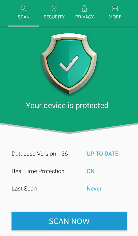 Systweak Anti-Malware app for Android