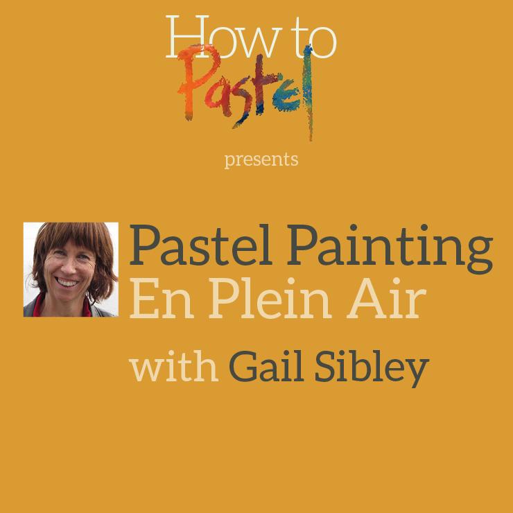 Pastel Painting En Plein Air