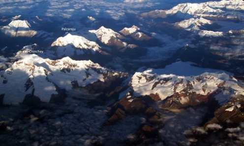 Chinchey and Palcaraju Mountains