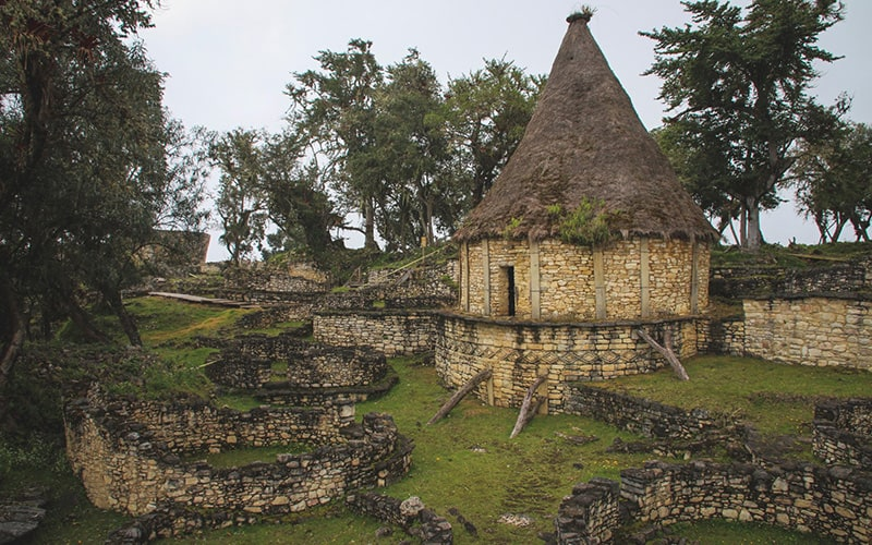 Kuelap, the Macchu Picchu of the North, in Chachapoyas
