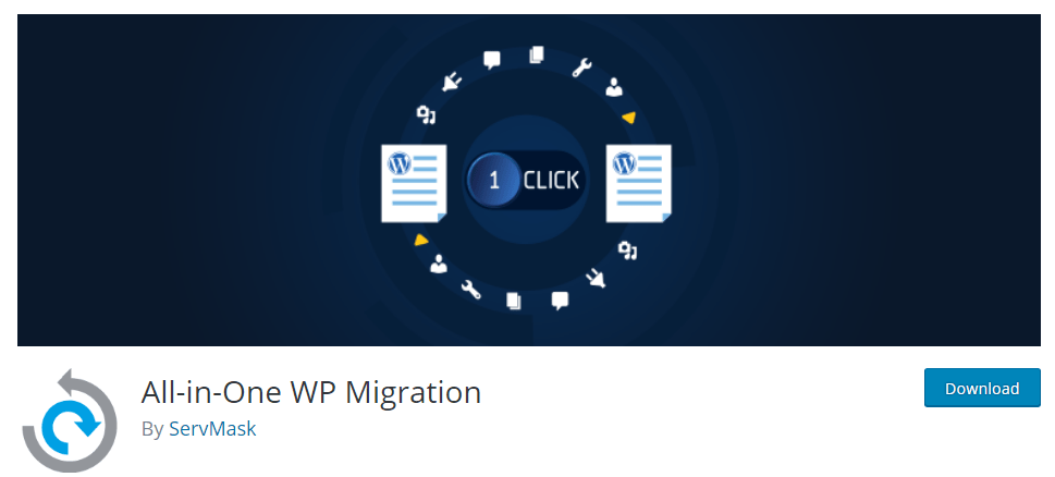 Top 5 WordPress plugin to Migrate WordPress Sites