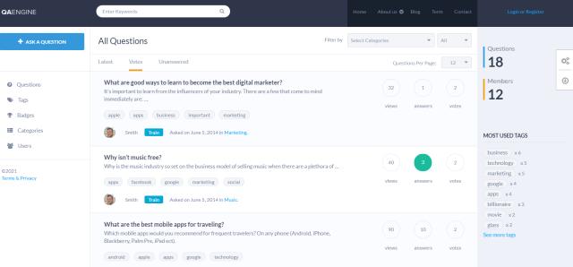 WordPress Themes Like Quora