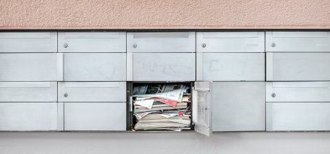 How to Recycle Junk Mail - Mailbox overfilling with mail
