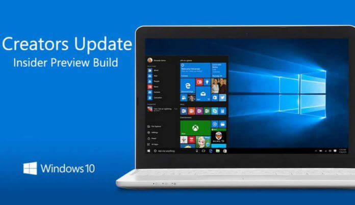 Windows 10 Creator Update