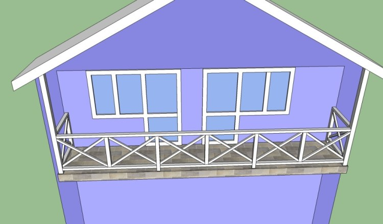 Balcony Railing Designs Howtospecialist How To Build Step By Step Diy Plans