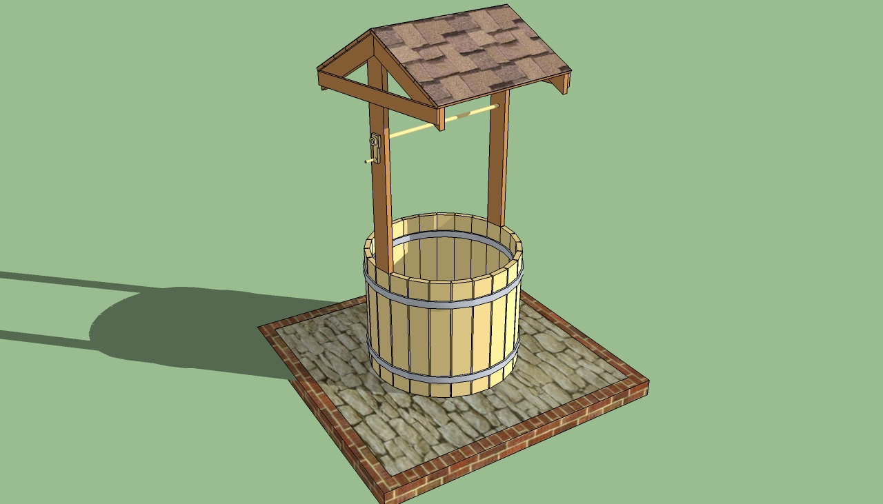 How To Build A Wishing Well Planter HowToSpecialist How To Build Step By Step DIY Plans