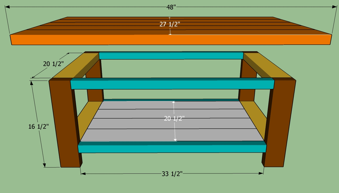 pdf plans build simple coffee table download how to build a pool
