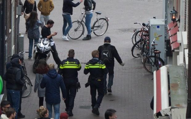 Politie in de Rosse Buurt