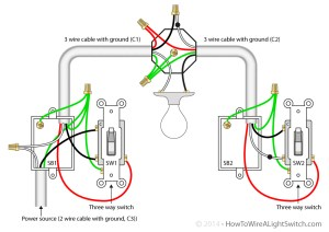 3 Way Switch | How to wire a light switch