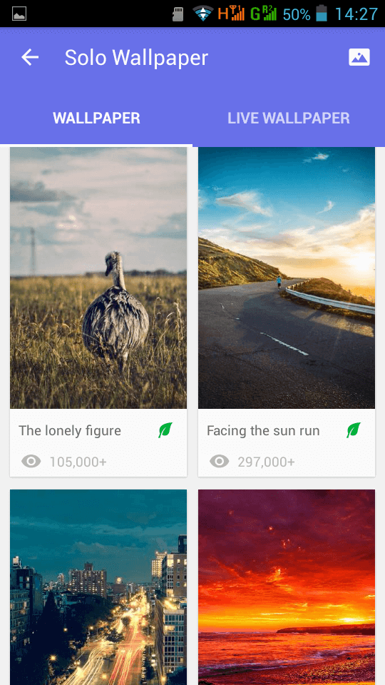 Android Phone Launcher wallpapers