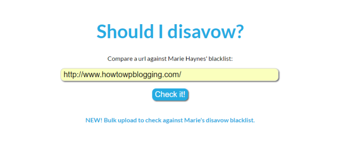 Marie Haynes' Disavow Blacklist Best SEO Tools The Complete List