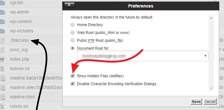 Disable Directory Browsing in WordPress 2