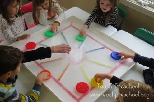 Sports Themed Learning Games    How Wee Learn Preschool sports theme   color hockey