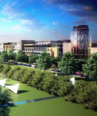 An artist's impression of the Tatu City development.