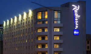 The Radisson Blu hotel in Addis Ababa.