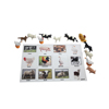 Miniature Farm Animal Toy Figurines with Matching Cards