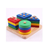 Sort Puzzle Colour and Shape Recognition Geometric Board