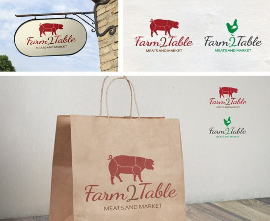 Howzit Media Marketing, Farm 2 Table Marketing layout
