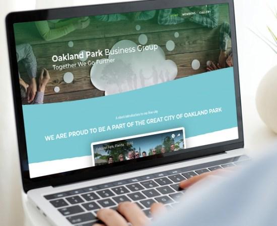 Oakland Park Business Group Website Image