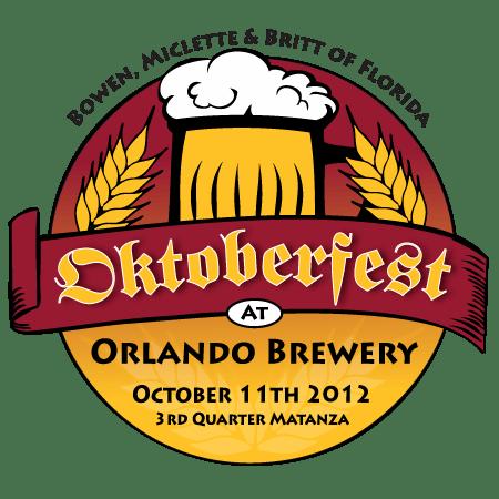 BMB Inc of Florida Oktoberfest event logo branding
