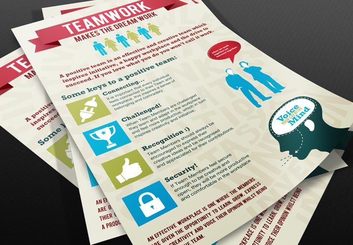 BMB Inc of Florida motivational teamwork poster branding