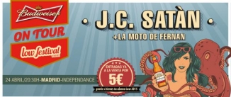 Ir al evento: J.C.SATÁN + La Moto de Fernan
