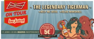 Ir al evento: THE LEGENDARY TIGERMAN + Help me Devil + Islas Marshall